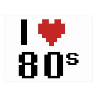 80s postales