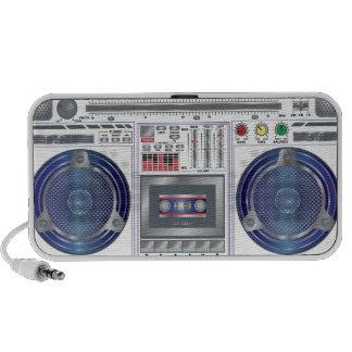 80s Radio  Day custom portable speaker
