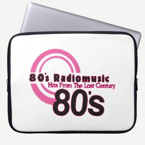 80's Radio Music Computer Sleeve
