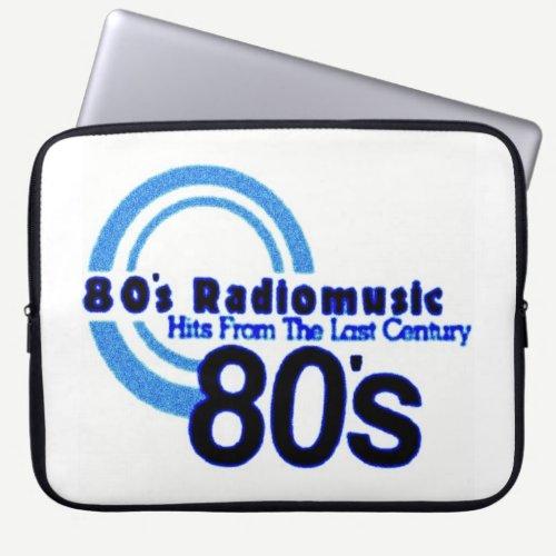 80's Radiomusic Laptop Sleeve