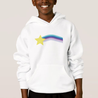 80s rainbow hoodie