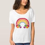 80's Rainbow 'n Hearts T-Shirt