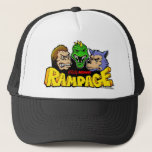 """80&#39;s Rampage Cap<br><div class=""""desc"""">Great lookin&#39; hat that proclaims to one and all that you really know your Arcade Classics! We all grew up with this game,  but only the guys that developed it had a Hat like this,  until now... . All Rights Reserved.</div>"""