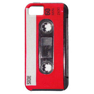 80's Red Label Cassette iPhone 5 Cases