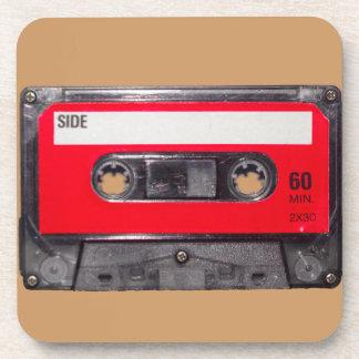 80's Red Label Cassette Coaster