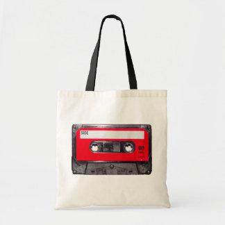 80's Red Label Cassette Tote Bag