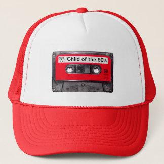 80's Red Label Cassette Trucker Hat