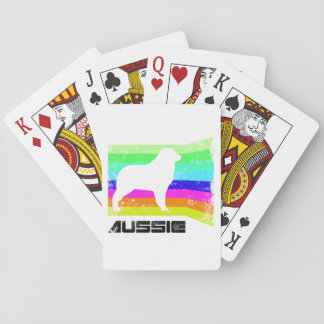 80's Retro Aussie Playing Cards