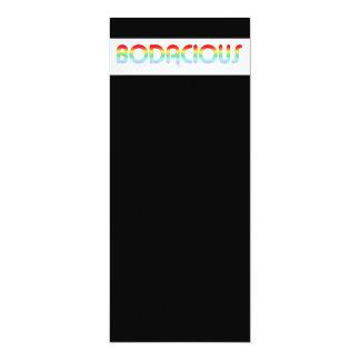 80s Retro Bodacious Card