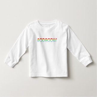 80s Retro Bodacious Toddler T-shirt