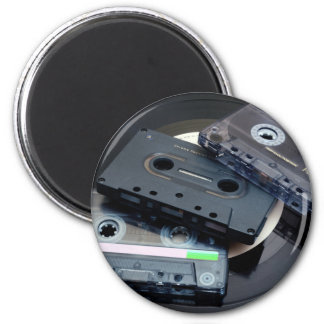 80's Retro Design - Audio Cassette Tapes Magnet