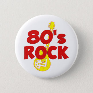 80s Rock Button