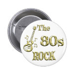 80s ROCK Buttons