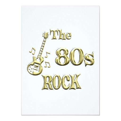 80s ROCK Card