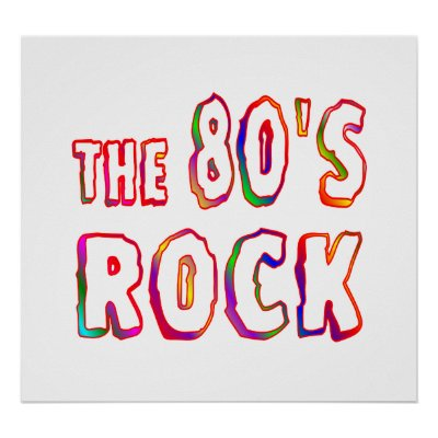 80s Music Posters  Zazzle