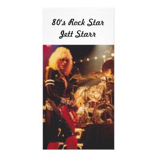 80's Rock StarJett Starr Photo Card