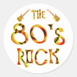 80's Rock Sticker