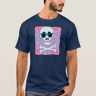80's Skull with Shades T-Shirt