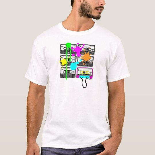 80s Spalt Mix Tape Men's Light Shirts