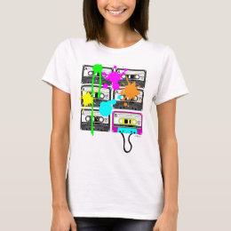80s Spalt Mix Tape Women's Light Shirts