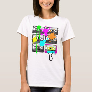 80s Spalt Mix Tape Women's Light Shirts