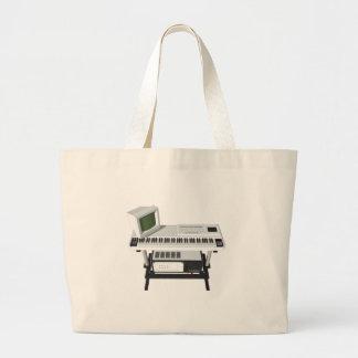 80's Style Sampler Keyboard: 3D Model: Bags