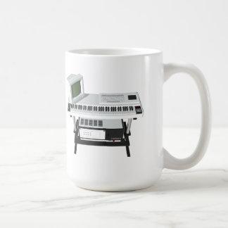 80's Style Sampler Keyboard: 3D Model: Coffee Mug
