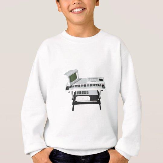 80's Style Sampler Keyboard: 3D Model: Sweatshirt