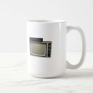 80's Style TV and VCR: 3D Model Coffee Mugs