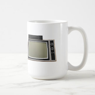 80's Style TV and VCR: 3D Model Mug