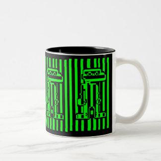 80's Video Game Two-Tone Coffee Mug