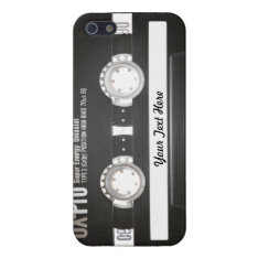80s Vintage Mix Tape B Side Cover For Iphone Se/5/5s at Zazzle