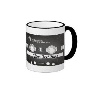 80s Vintage Mix Tape B Side Ringer Coffee Mug