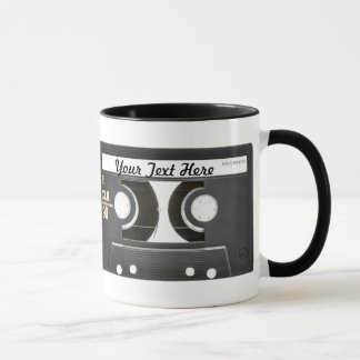80s Vintage Mix Tape B Side Mug