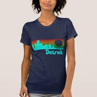 80s vintage retro Detroit Camiseta