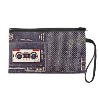 80's walkman wristlet purses
