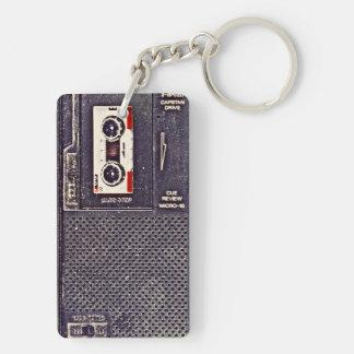 80's walkman keychain
