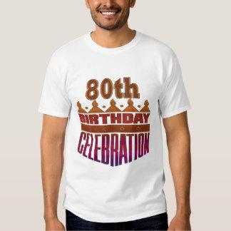 80th Birthday Celebration Gifts Shirt