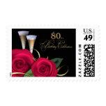 80th Birthday Celebration Postage Stamps Postage