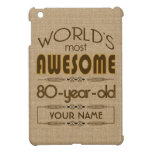 80th Birthday Celebration World Best Fabulous Cover For The iPad Mini