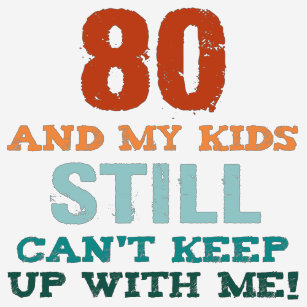 80th Birthday For Parents T Shirt