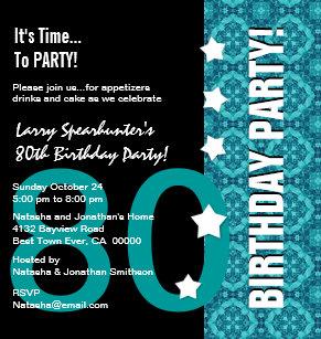 Funny 80th birthday invitations zazzle 80th birthday funny not over the hill z80d invitation filmwisefo
