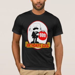 80th Birthday Gifts T Shirt
