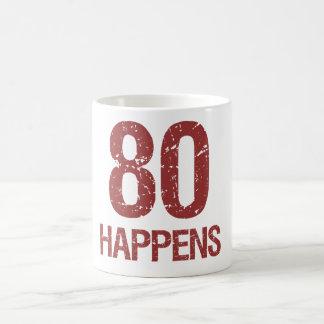 80th Birthday Humor Coffee Mug