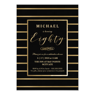 60 Off For Man 80th 4x6 Birthday Invitations Shop Now To Save