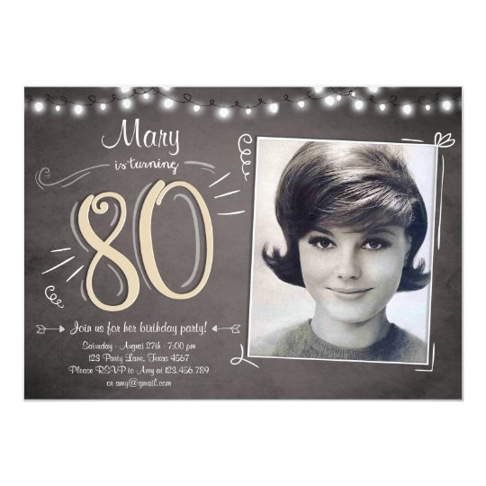 80th birthday invitation vintage eighty birthday zazzle 80th birthday invitation vintage eighty birthday filmwisefo