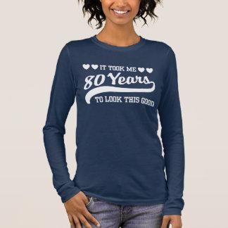 80th Birthday Long Sleeve T-Shirt