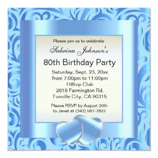 80th Birthday Party |DIY Text Card
