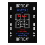 80th Birthday Party Invitation - 80