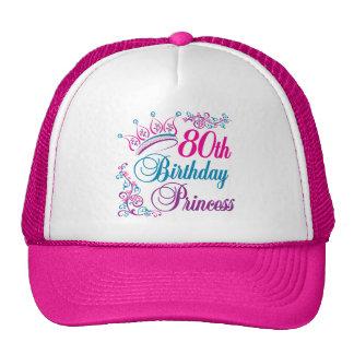 80th Birthday Princess Trucker Hat
